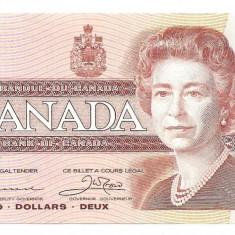 Canada 2 Dolari Dollars 1986 UNC