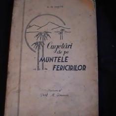 CUGETARI DE PE MUNTELE FERICIRILOR-E. G. WHITE-, Alta editura