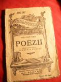Octavian Goga - Poezii - BPT 286-287 ,Ed. 1910 Ed. Universala Alcalay