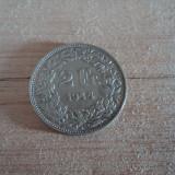 2 francs 1944 Elvetia, argint