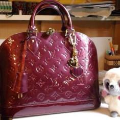 Geanta louis vuitton alma - Geanta Dama Louis Vuitton, Geanta de umar, Din imagine, Piele, Medie