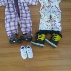 Costume de iarna, cizme, bocanci si adidasi copii 1.5 - 3.5 ani, Culoare: Alb, Cappuccino, Rose, Bleumarin