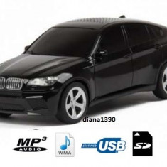 Boxa portabila MP3 player si radio masina BMW x6 NEGRU - Aparat radio
