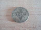 One florin 1921 Marea Britanie, argint