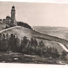 #carte postala(ilustrata)-BRASOV-Mausoleul de pe muntele Mateiasul