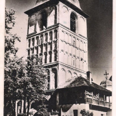 #carte postala(ilustrata)-CAMPULUNG-MUSCELTurnul de intrare in manastirea Negru Voda