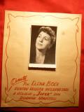 Diploma de Onoare pt. Actrita Elena Bodi - Teatrul National Arad ,anii 60