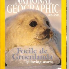 (C5448) FOCILE DE GROENLANDA ISI INVING SOARTA, NATIONAL GEOGRAFIC - Carte Geografie