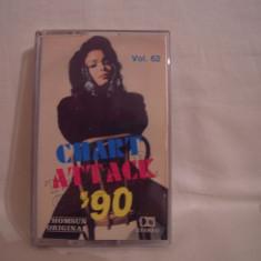 Vand caseta audio originala Chart Attack'90,originala