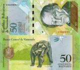 VENEZUELA 50 bolivares 2011 UNC!!!