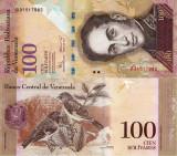VENEZUELA 100 bolivares 2008 UNC!!!