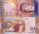 VENEZUELA 10 bolivares 2007 UNC!!!