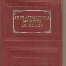 (C5449) ULTRASTRUCTURA HEPATICA IN ICTERE DE I. PAVEL, AL. PETROVICI, H. BONAPARTE, EDITURA ACADEMIEI RSR, 1972