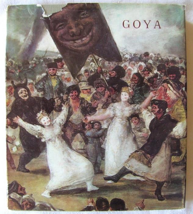 """""""GOYA"""", Vasile Florea, 1968. Carte noua"""