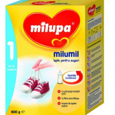 Milupa - Lapte praf bebelusi Milupa, De la 0 luni