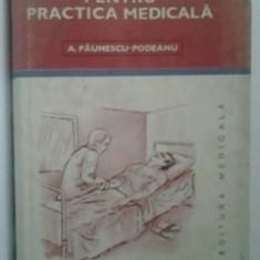 BAZE CLINICE PENTRU PRACTICA MEDICALA -  - A. PAUNESCU-PODEANU / vol V  -  1990