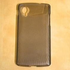 Husa LG Nexus 5 Transparenta Black - Husa Telefon LG, Plastic, Fara snur, Carcasa