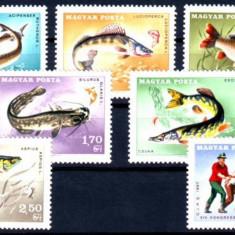 UNGARIA 1967, Fauna - Pesti, serie neuzata, MNH