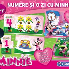 Compendiu Minnie Numere + O zi cu Minnie - 60205 - Jocuri Logica si inteligenta Clementoni