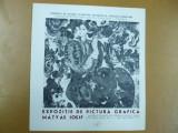 Catalog expozitie Matyas Iosif Sinmartin Harghita pictura grafica Deva galeria fondului plastic 1982