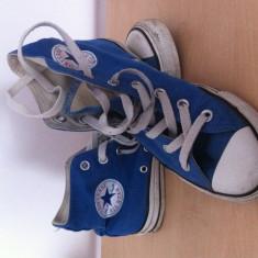 Tenisi Converse nr 37, 5 sport textil unisex bascheti - Tenisi barbati Converse, Culoare: Albastru