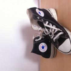 Tenisi Converse chuck taylor all stars unisex sport textil panza - Tenisi barbati Converse, Marime: Alta, Culoare: Negru