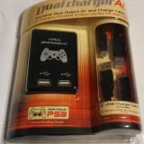 Incarcator usb dublu pentru PS3 (Dual USB AC Adapter), Kit acceosrii