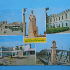 HOPCT 14057 ROMANIA SLATINA - [ CIRCULATA ] - Carte Postala Muntenia dupa 1918