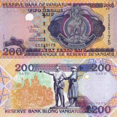 VANUATU 200 vatu 2011 UNC!!!