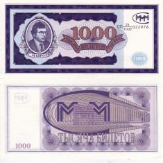 RUSIA 1.000 bilet 1994 MAVRODI UNC!!! - bancnota europa