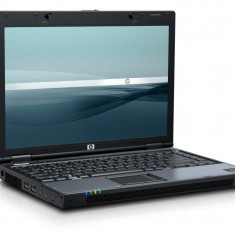 LAPTOP PROFESIONAL HP 6510B CORE2DUO T8100 2x2.1GHZ 2GB 120GB DVD | BATERIA MINIM 1 ORA | GARANTIE 12 LUNI | RULEAZA WIND 7, WIRELESS, DISPLAY 14.1