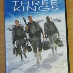 Three Kings (1999) DVD - Regii Desertului - Film actiune warner bros. pictures, Romana
