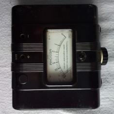 Ohmetru analogic colectie Gossen Megohm Post complet cu husa testere Radioamator
