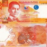 FILIPINE 20 piso 2012 UNC!!! - bancnota asia