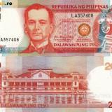 FILIPINE 20 piso 2009 UNC!!! - bancnota asia