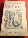 Gh.I.Georgescu - Minunata Calatorie a lui Marco Polo Ed.1939