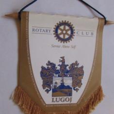 FANION-LUGOJ-ROTARY CLUB-INTERNATIONAL - Fanion fotbal