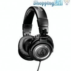 Casti Audio-Technica ATH-M50 ~ Vanzator Premium din 2011 ~ Se aduc la comanda din SUA, livrare cca 10 zile lucratoare ~ Aducem orice produs din SUA, Casti On Ear, Cu fir, Mufa 3, 5mm, Active Noise Cancelling
