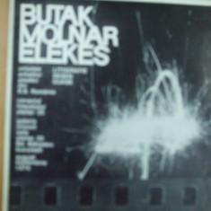 Catalog expozitie Butak Molnar Elekes litografie desen guase cuprinde lista completa exponate Bucuresti Orizont 1976, Alta editura