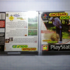 Joc consola Sony Playstation 1 PS1 PS One PSX - Actua Golf 2 ( GameLand - sute de jocuri ) - Joc PS1, Sporturi, Multiplayer, 3+