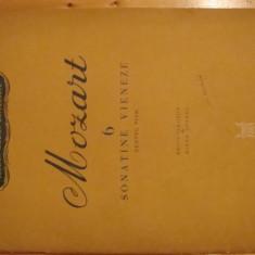 Partitura muzica, Mozart 6 Sonatine vieneze pentru pian