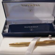 Pix WATERMAN placat cu aur