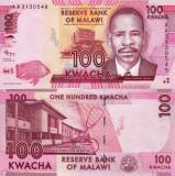 MALAWI 100 kwacha 2012 UNC!!!
