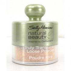 Pudră de finisaj iluminatoare Sally Hansen Natural Beauty, Pulbere