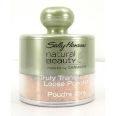 Pudră de finisaj iluminatoare Sally Hansen Natural Beauty, Pulbere