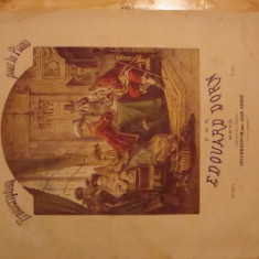 Partitura muzicala veche, Donizetti - don Pasquale, pian