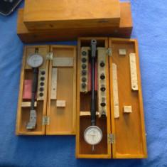 Trusa alezaj cu ceas comparator 50 - 160