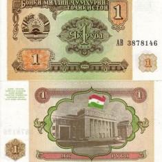 TADJIKISTAN 1 ruble 1994 UNC!!! - bancnota asia