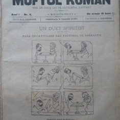 Moftul roman , revista spiritista nationala ; Director I. L. Caragiale , nr. 9 din 1893