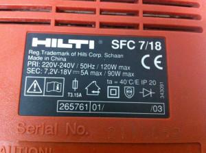 Incarcator HILTI SFC 7/18